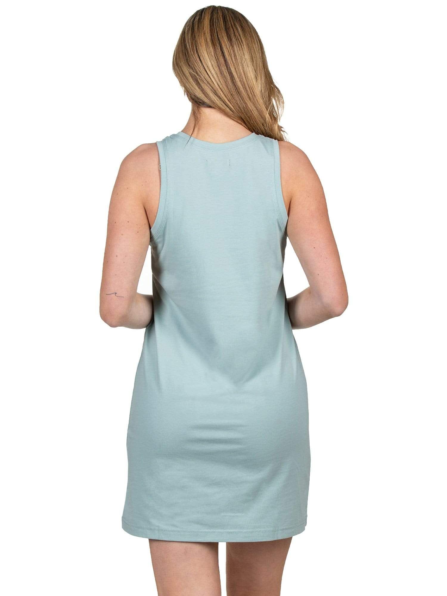 Light Blue Tank Dress
