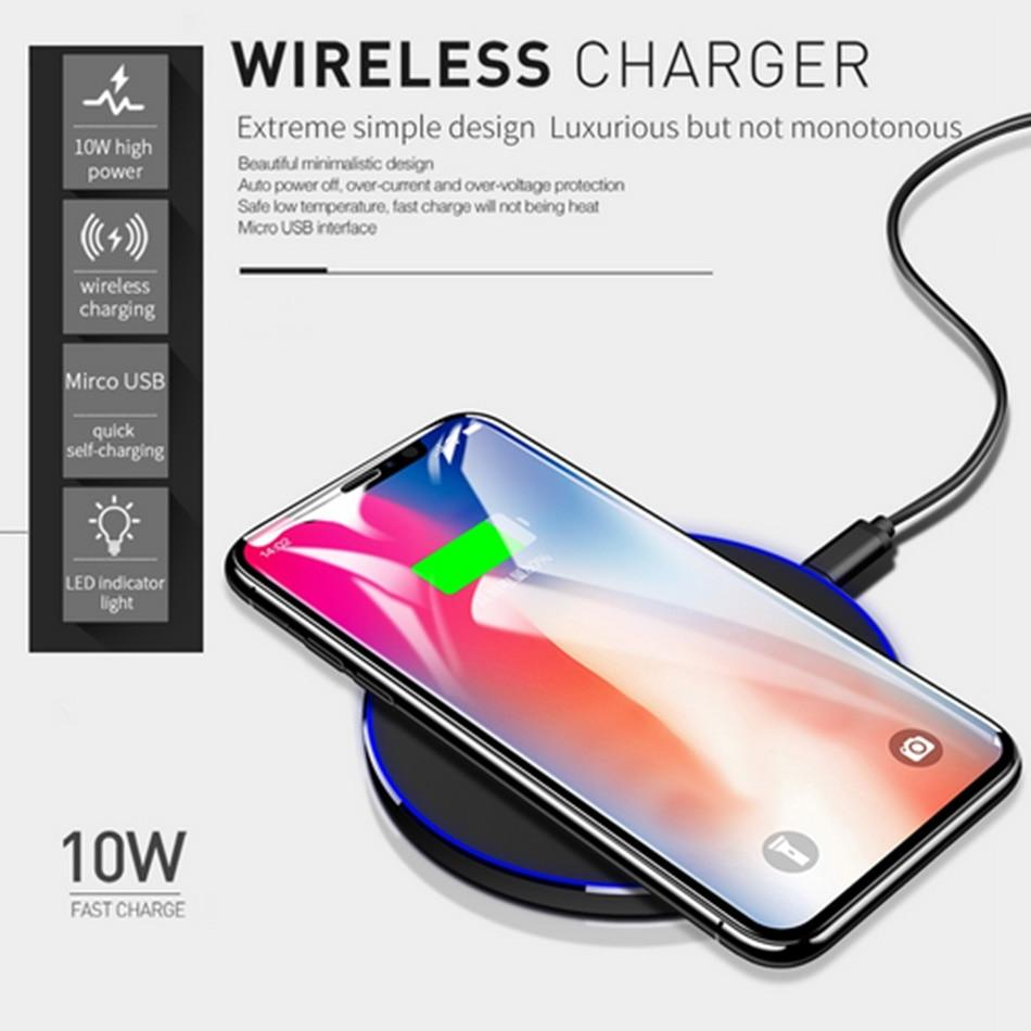 Wireless Charger USB Charge Fast Charging Pad